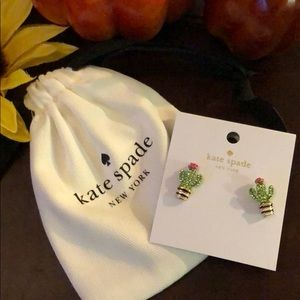 🎉 NEW kate spade 🌵 Cactus Earrings